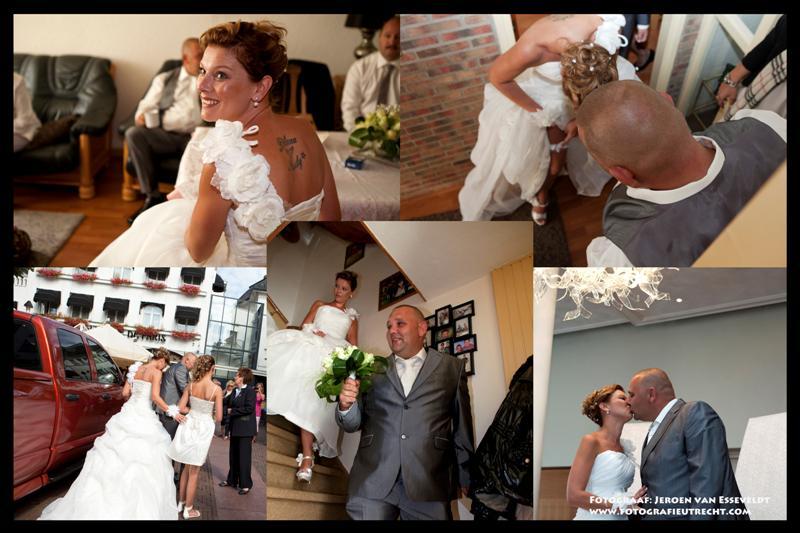 Trouwerij Mariska & Andre 16-8-2013