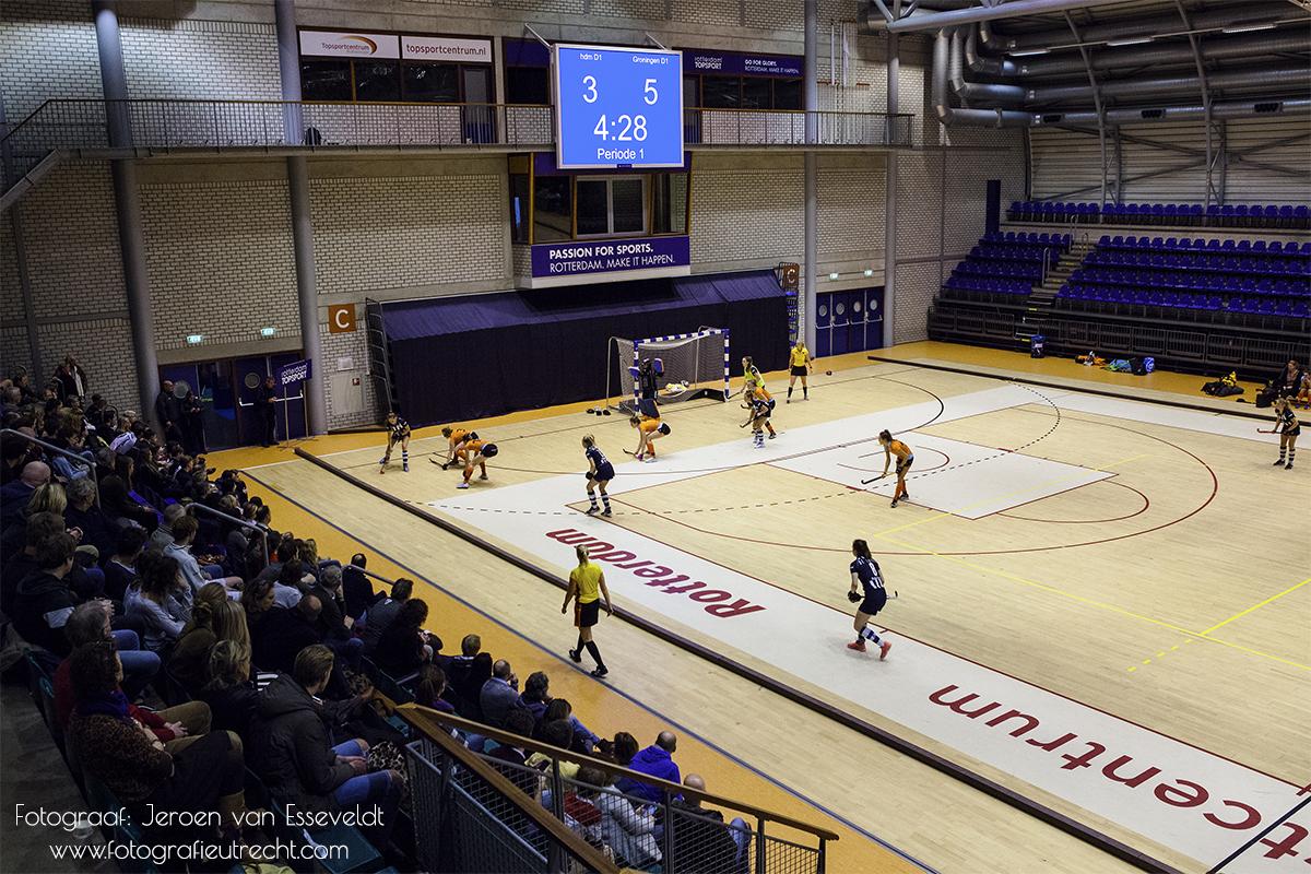 Hoofdklasse Zaalhockey Seizoen '18-'19 Topsportcentrum R'dam IMG_2405 (Website)