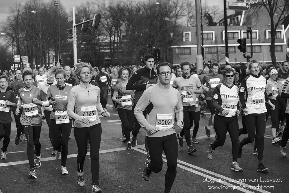 Midwinter Marathon Apeldoorn 2016 _MG_8011 (7Feb) _MG_7808 Black&White (Website)